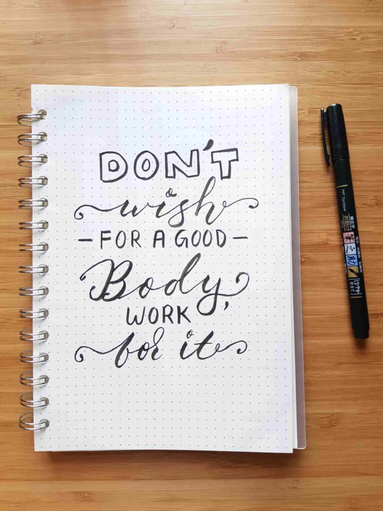 bullet journal quotes, bullet journal spreads, how to stay motivated