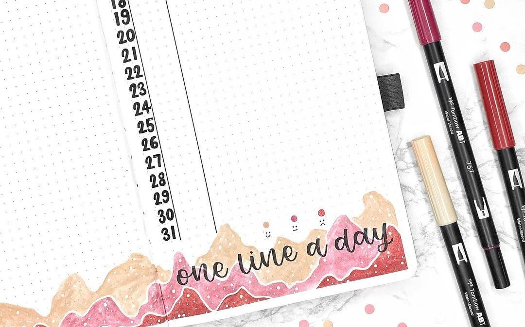 15 Easy Bullet Journal Page Ideas-Bullet Journal Collections